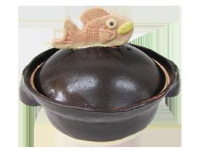 手作り土鍋,魚