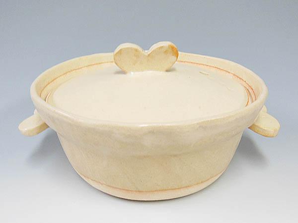 手作り土鍋,ハート
