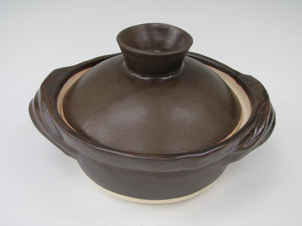 手作り土鍋黒