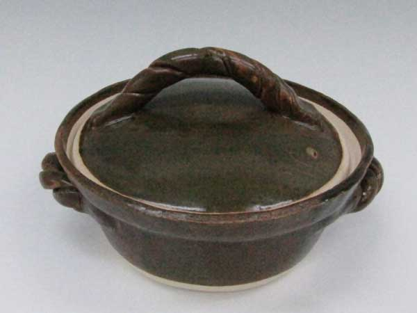 黒手作り土鍋
