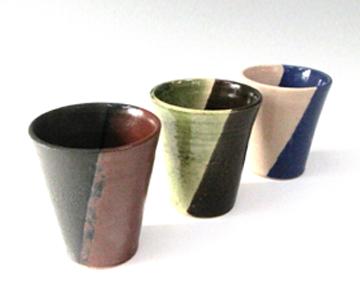 家族とのお揃いのカップも手作りできます