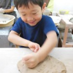 夏休みの宿題の決定版、陶芸で自由研究