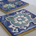 伝統的なペルシャタイルが絵付け出来る陶芸体験