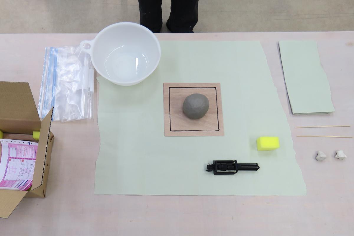 オンライン陶芸体験てびねり