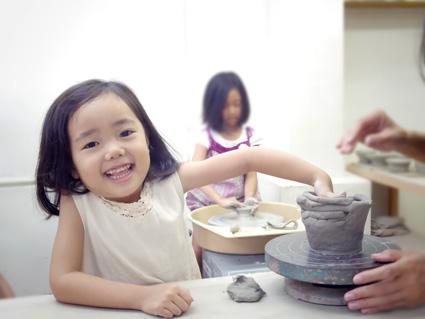 子供陶芸体験5