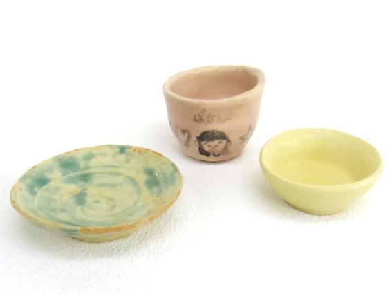 子供陶芸作品