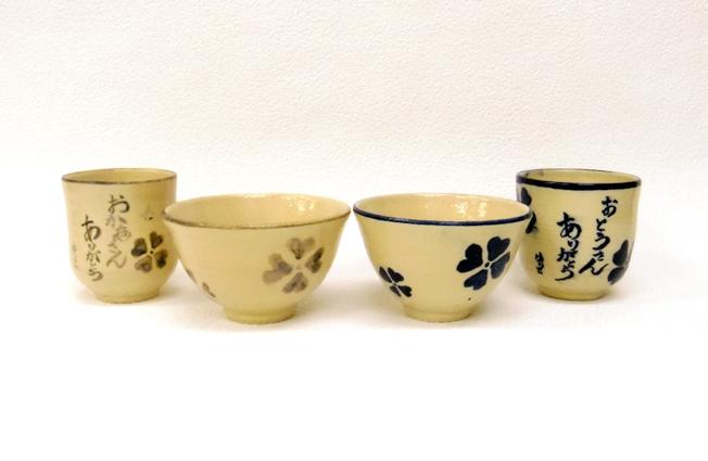 ウェディングプレゼントに最適なメッセージ入り手作り陶芸